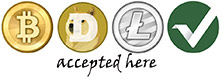 bitcoin litecoin accepted here please contact sales dept
